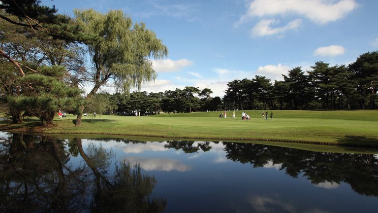 The venue has previously hosted the Japan Open and the Asian Amateur Championship