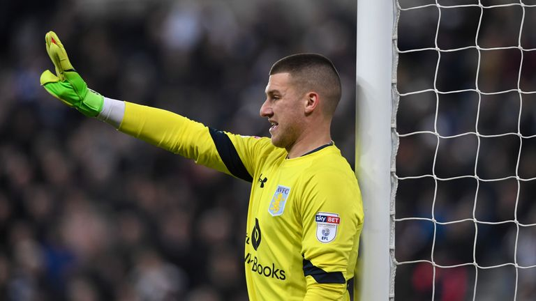 Sam Johnstone is set to return to Aston Villa on loan