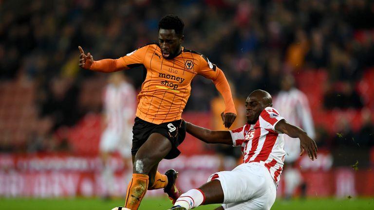Martins Indi spent last season on loan at Stoke
