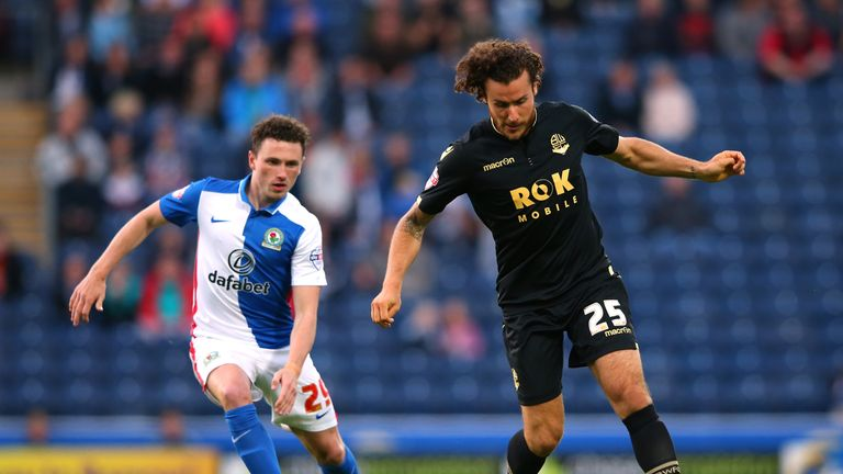 Blackburn's Corry Evans is set to miss the rest of the season