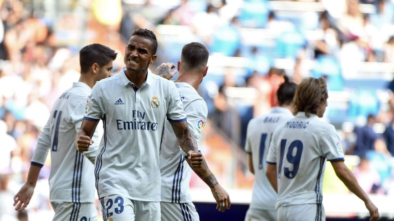 Danilo was second-choice right-back at Real for much of last season