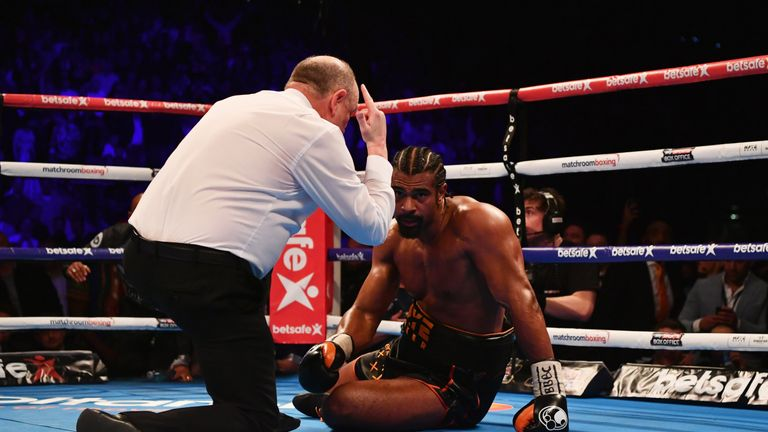 Anthony Joshua says David Haye deserves respect for a brave performance in his defeat to Tony Bellew