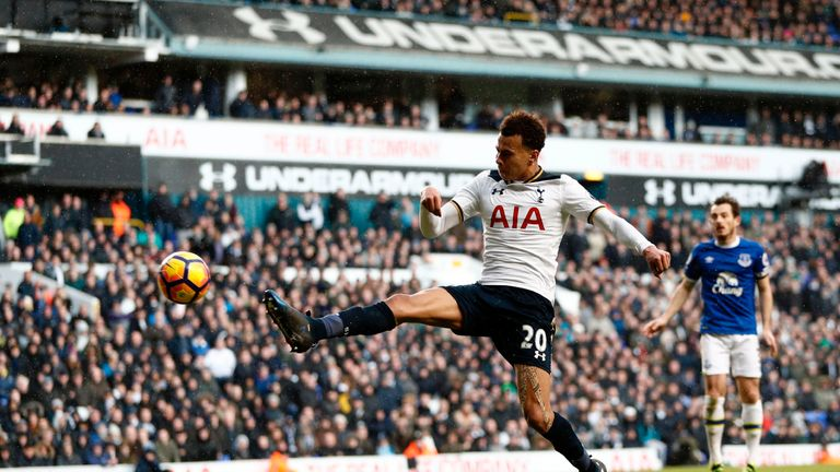 Dele Alli scored what proved to be the decisive goal in stoppage time