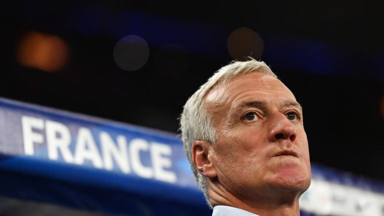 Didier Deschamps will remain the France manager until 2020