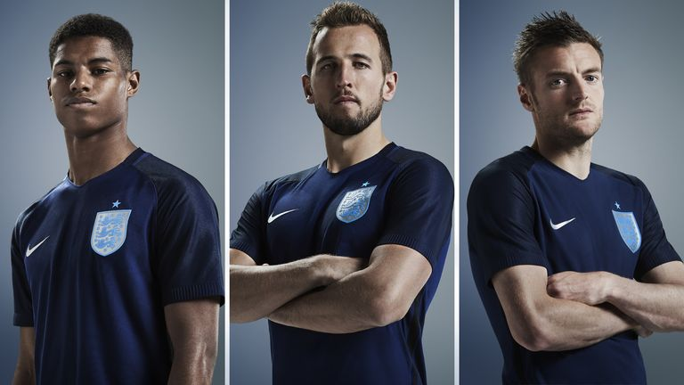 detailed look 3a92b cd799 England to wear new navy away kit against Germany | Football ...