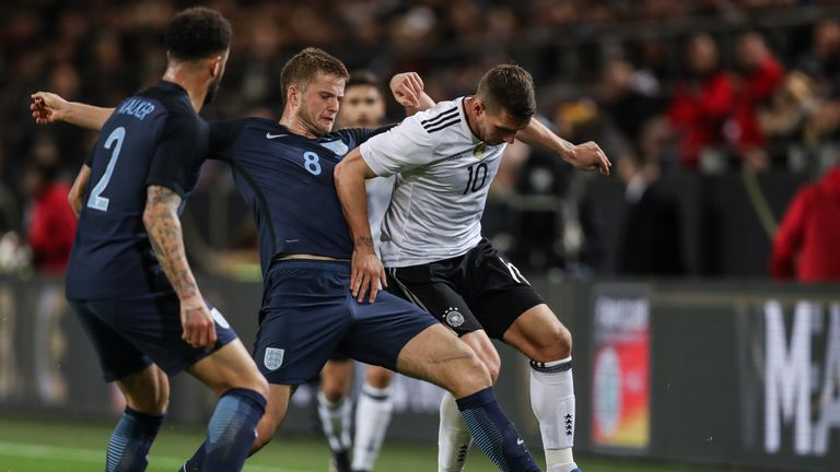 Eric Dier impressed against Germany as England lost 1-0