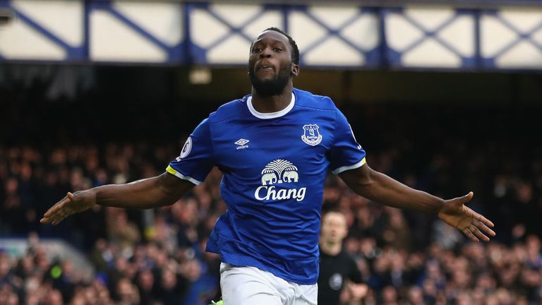 Romelu Lukaku is at the centre of transfer speculation