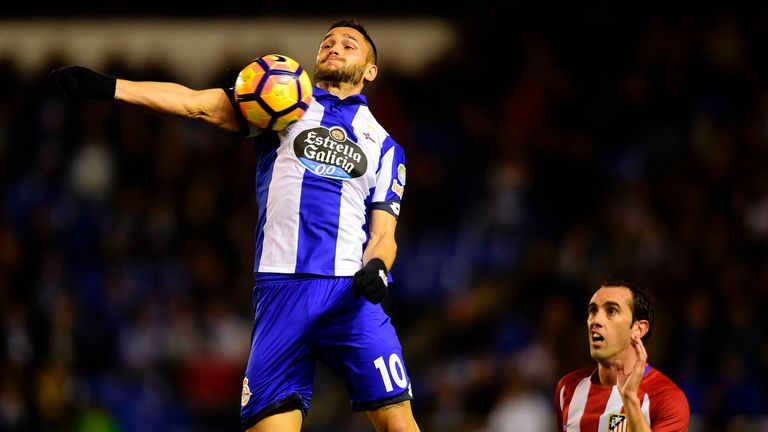 Burnley have made a bid of £11.8m for Florin Andone