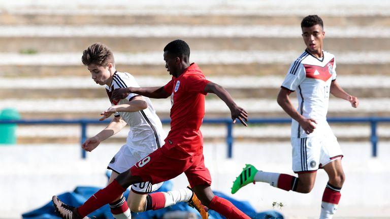 Bohui made his England U17 debut at the Algarve Tournament against Germany in Feburary 2016