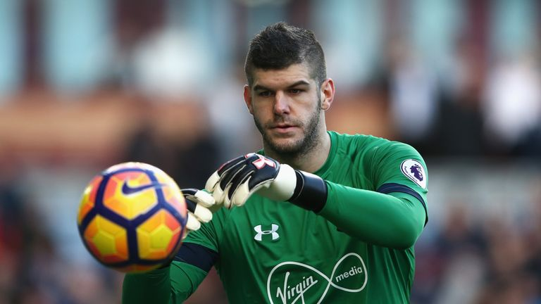 Fraser Forster has been passed fit to play