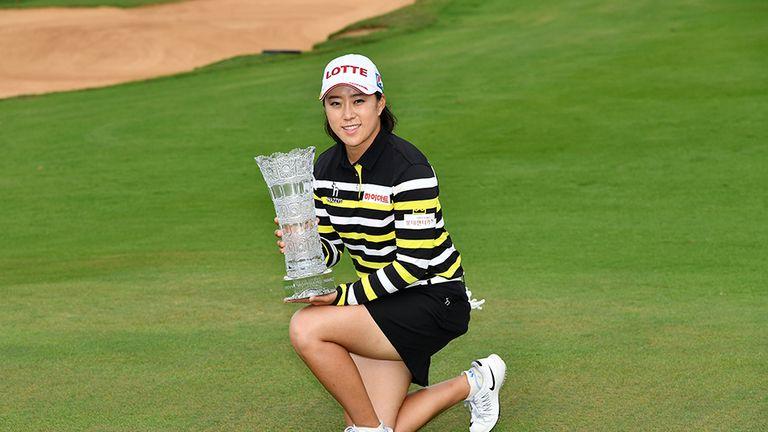 Hae Rym Kim claimed a dramatic victory via a play-off
