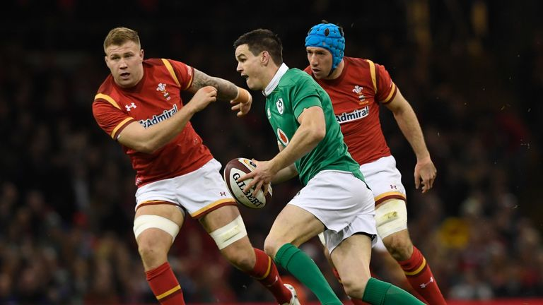 Johnny Sexton was unable to unlock the Welsh defence