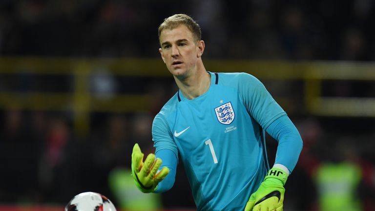 Hart has 70 caps for England but faces an uncertain future