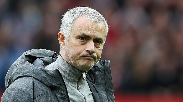 Jose Mourinho after the match against Bournemouth at Old Trafford