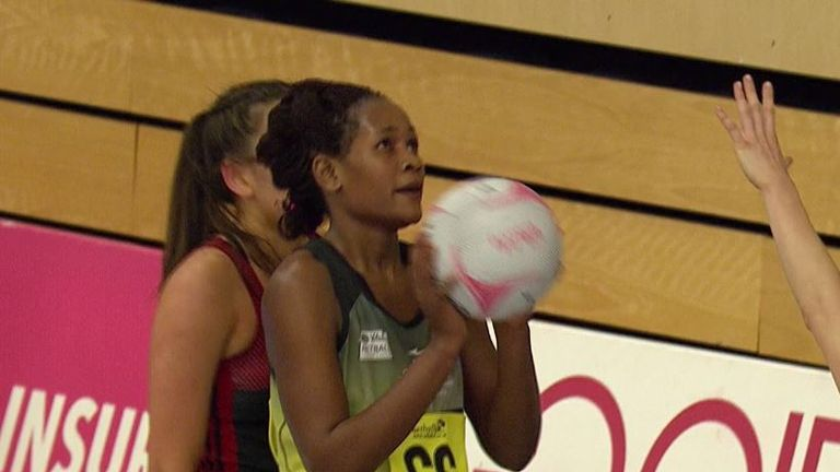 Joyce Mvula has played Fast 5 internationally for Malawi and will be starring in her third season for Manchester Thunder in January