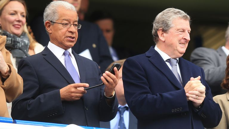 Lord Herman Ouseley founded Kick It Out in 1993