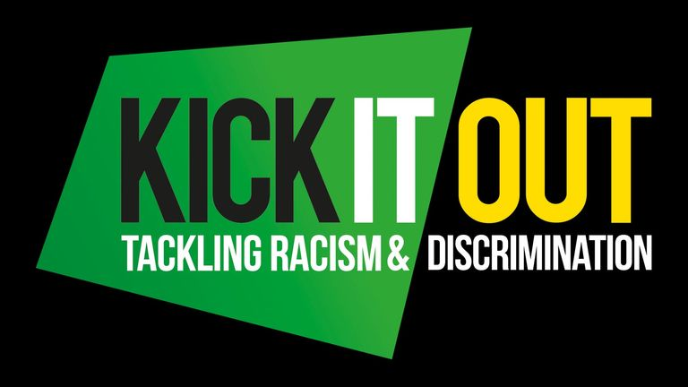 Kick It Out logo - tackling racism and discrimination in football
