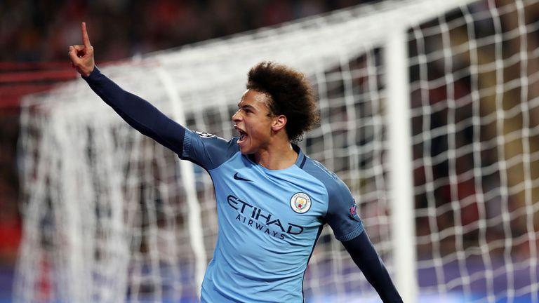Leroy Sane netted City's away goal
