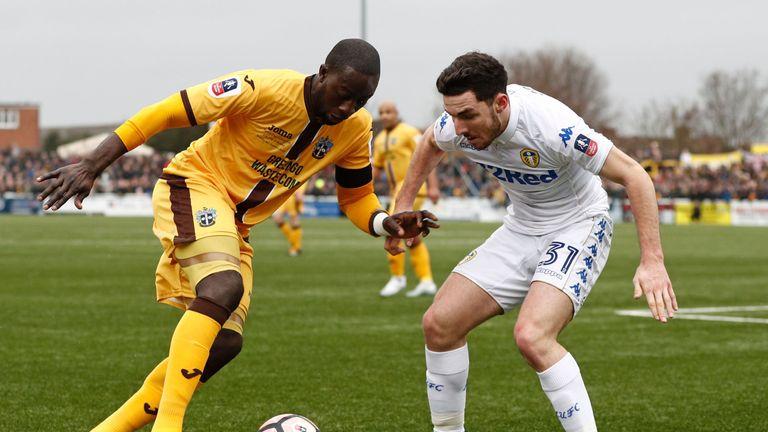 Leeds defender Lewie Coyle has joined Fleetwood on loan