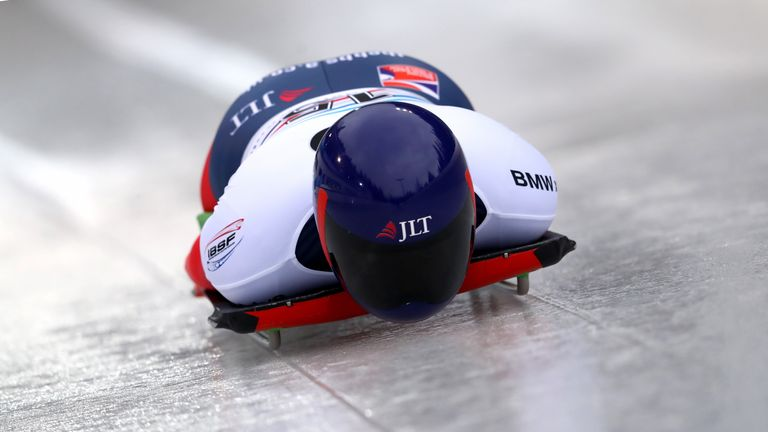 Lizzy Yarnold missed out on a podium in Pyeongchang