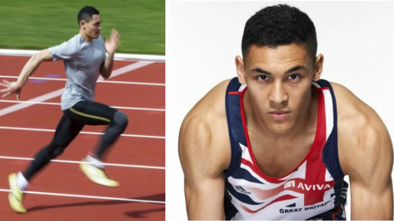 Louis Persent was a 400m runner and a Cambridge graduate