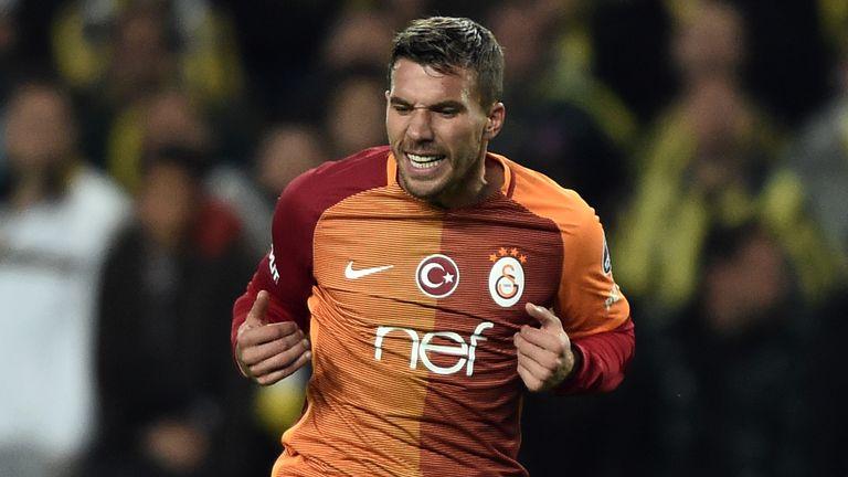 Lukas Podolski is heading to the J-League