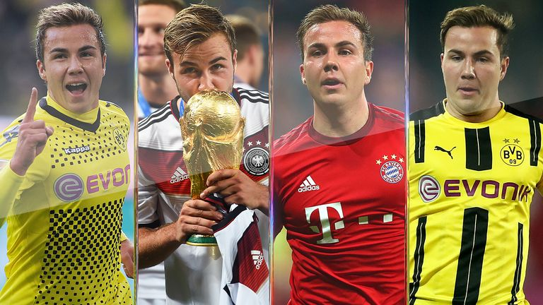 hot sale online e88ee 7866d What's happened to Mario Gotze? The journey of the 'German ...