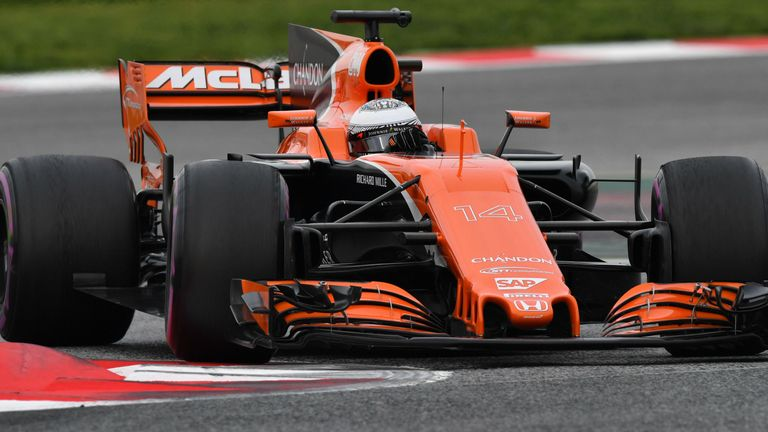 fernando alonso says honda engine is mclaren's only problem ahead of