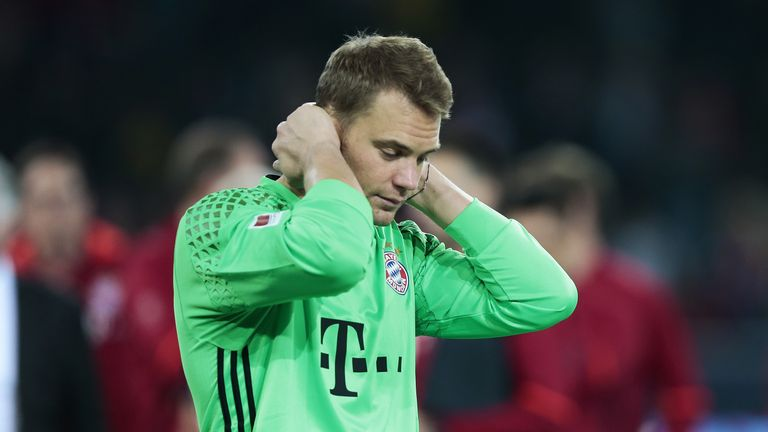 Manuel Neuer has not played since September