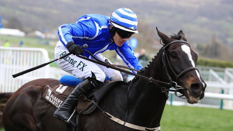 Penhill ridden by Paul Townend on their way to victory in the Albert Bartlett Novices' Hurdle during Gold Cup Day of the 2017 Cheltenham Festival at Chelte
