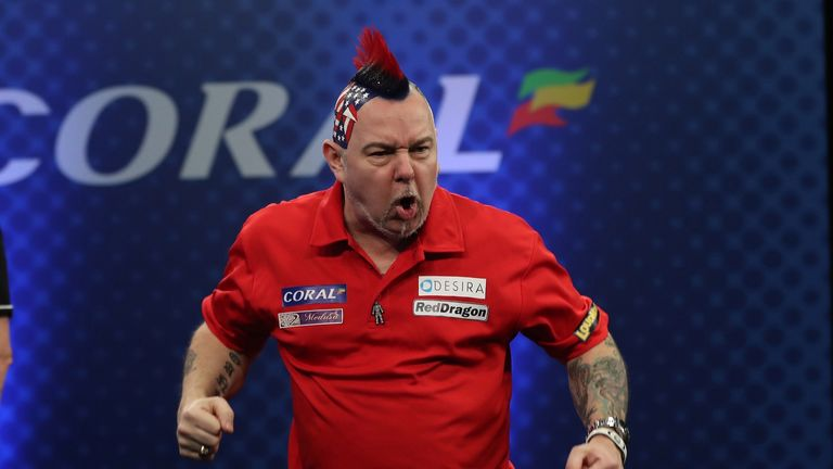 Peter Wright finally claimed a televised title on Sunday evening