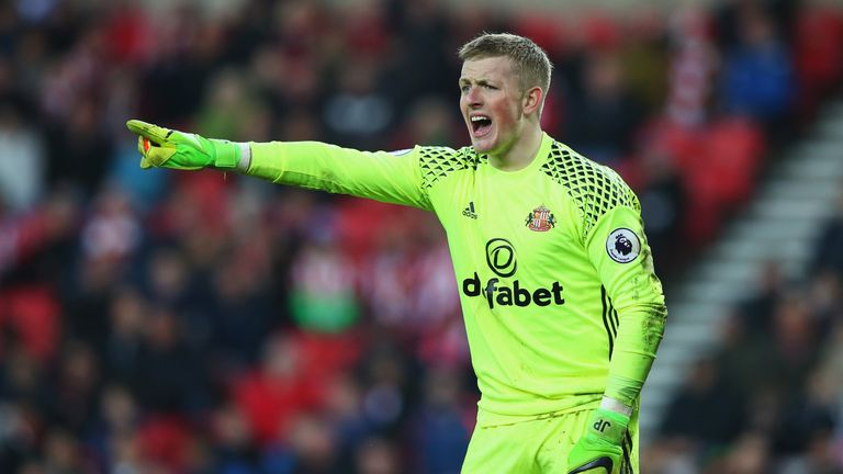 Young Sunderland goalkeeper Jordan Pickford has had a good season