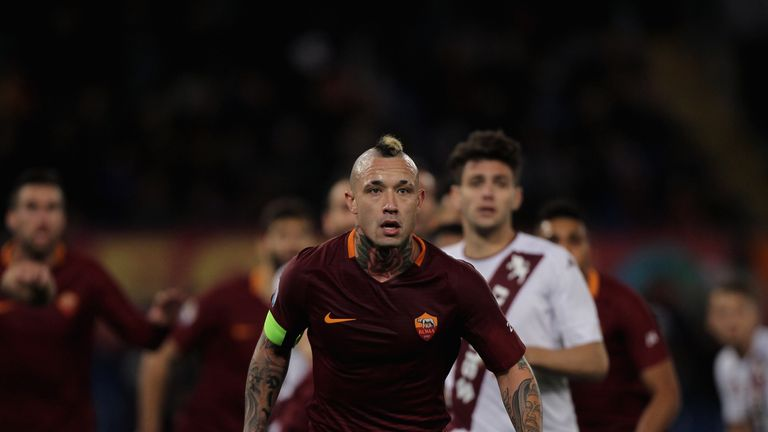 Radja Nainggolan has pledged his future to Roma