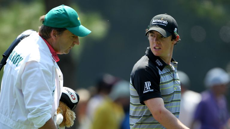 Rory McIlroy ended the week 10 strokes off the pace