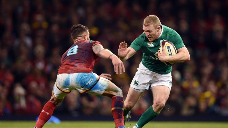 Keith Earls is doubtful due to a groin injury