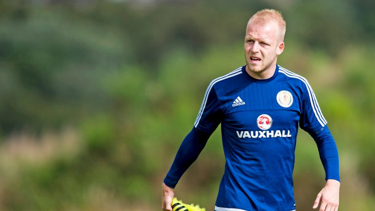 Steven Naismith hasn't played for Scotland in 18 months
