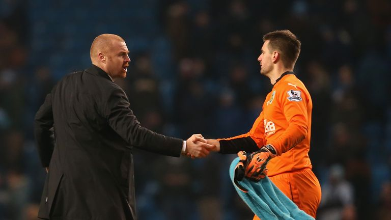 Sean Dyche must decide whether to include Tom Heaton in his team this weekend