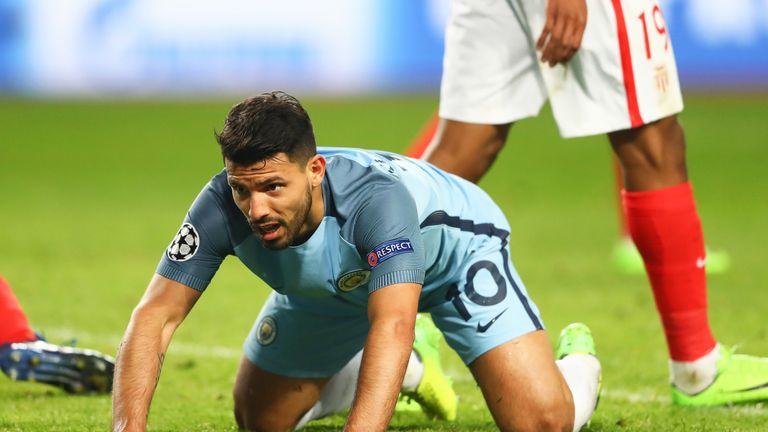 Manchester City crashed out of the Champions League to Monaco on Wednesday