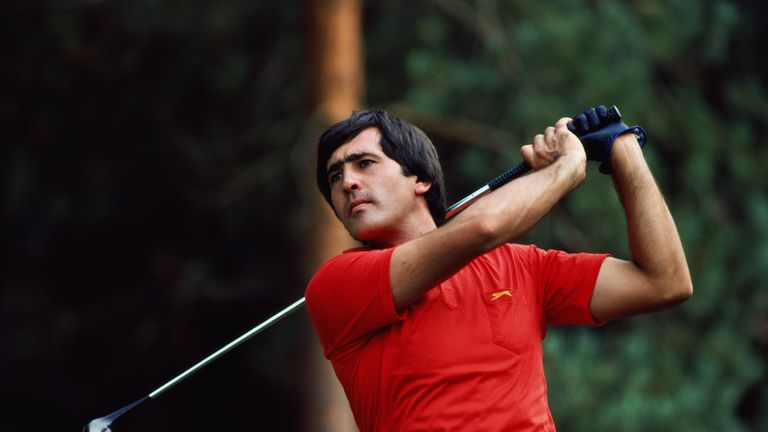 Seve Ballesteros was the first European to win the Masters in 1980