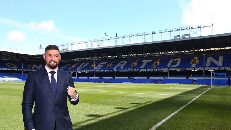 Tony Bellew has opted for a former Everton striker
