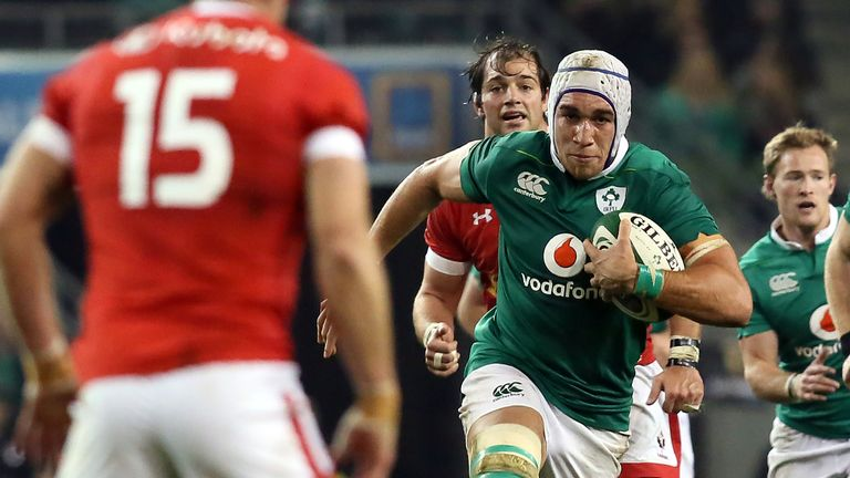 Dillane, 23, has 10 caps for Ireland to date but will not feature against Wales or England