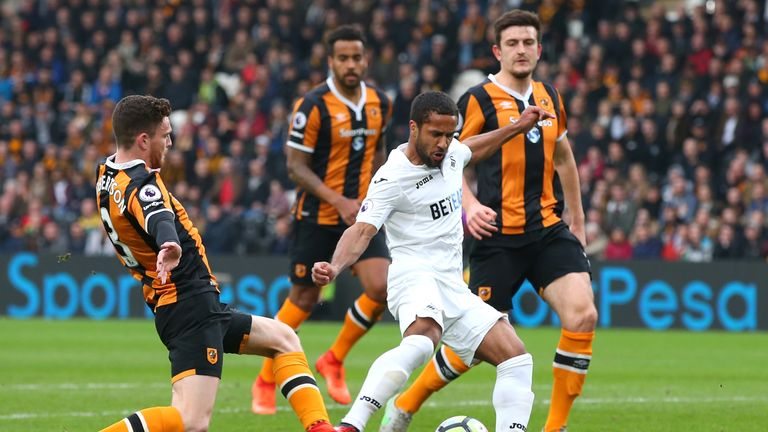 Wayne Routledge could return for Swansea