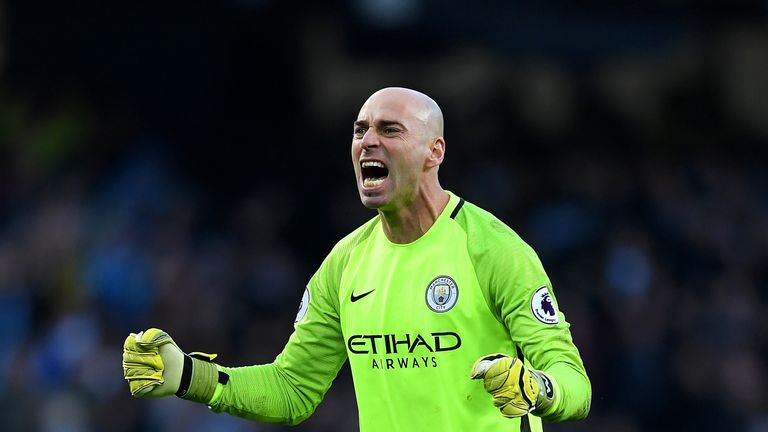 Willy Caballero is leaving Manchester City