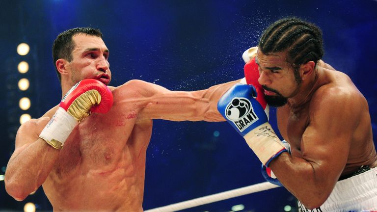 David Haye was beaten on points by Wladimir Klitschko in 2011