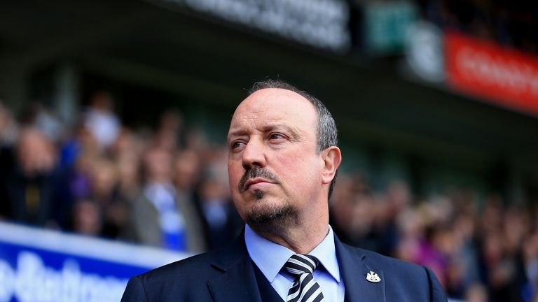 Rafael Benitez will be back on the bench for Newcastle