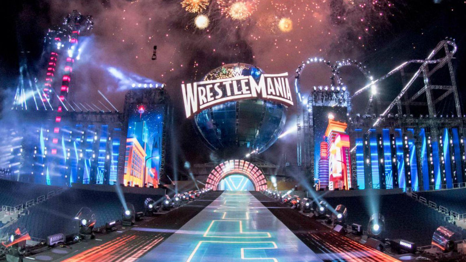 Wrestlemania 33 Sky