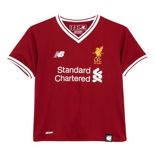Liverpool unveil new home kit