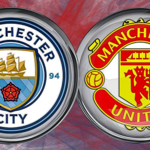 Sky Live: Man City v Man Utd