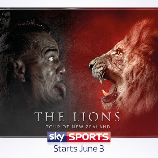 The Lions Tour live only on Sky Sports