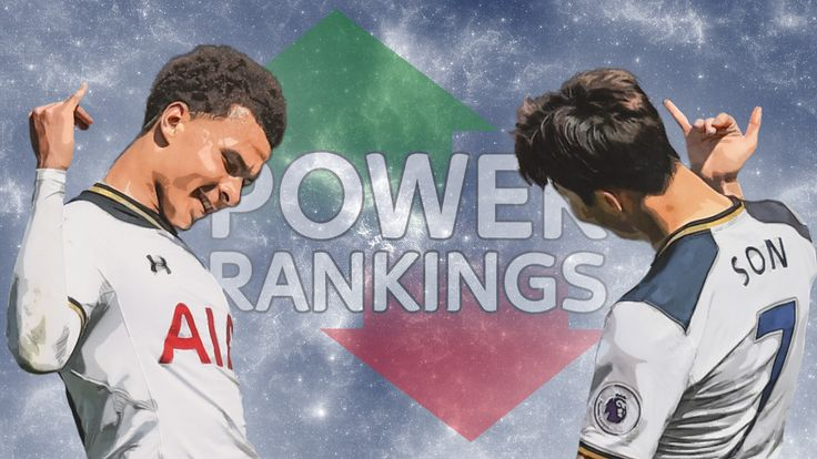 POWER RANKINGS TOP GRAPHIC